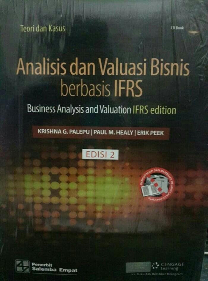 harga Analisis dan valuasi bisnis berbasis ifrs edisi 2 by. krishna g.palepu Tokopedia.com