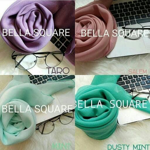 Jual Bella Square Jilbab Bella Hijab Laudya Jilbab Segi Empat