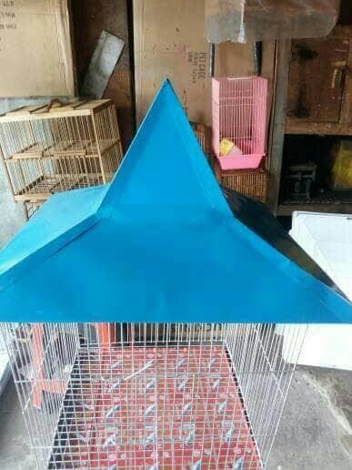 harga Kandang burung beo ukuran besar warna biru Tokopedia.com
