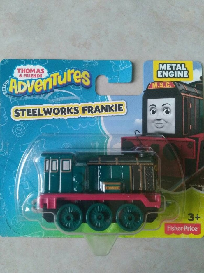 Thomas and friends adventures - steelworks frankie