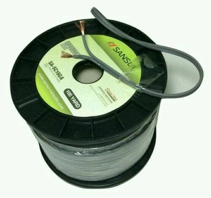 harga Kabel speaker sansui sa-sc16ga 2x15mm hg per roll Tokopedia.com
