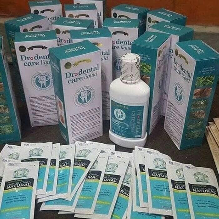 OBAT KUMUR Dr+ Dental Care Liquid ORIGINAL PEMBERSIH PLAK KARANG GIGI b0f2907315