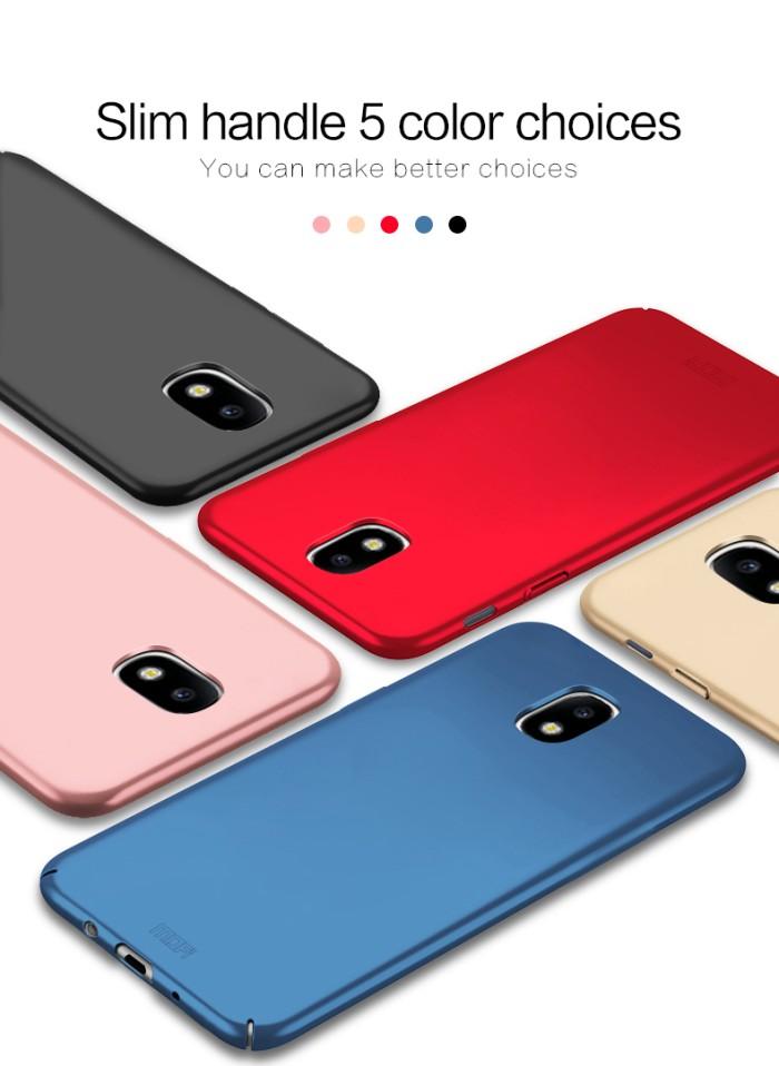 Foto Produk Samsung J5 J7 PRO 2017 full cover casing ultra thin hp case BABY SKIN - J7 Pro, Biru dari Case Pedia