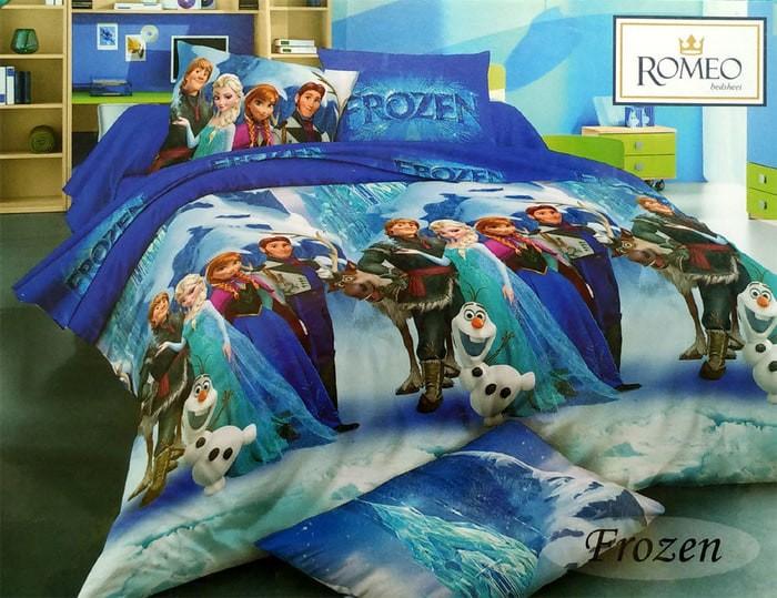 Sprei Romeo ukuran 180 x 200 / King / No.1 - Frozen Diskon