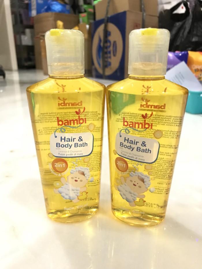 harga Bambi baby 2in1 hair & body bath 200ml shampo dan sabun bayi bambi Tokopedia.com