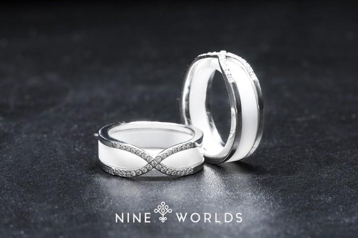 harga Nine worlds cincin silver 925 dan zirconia ceramic crystal pria wanita Tokopedia.com