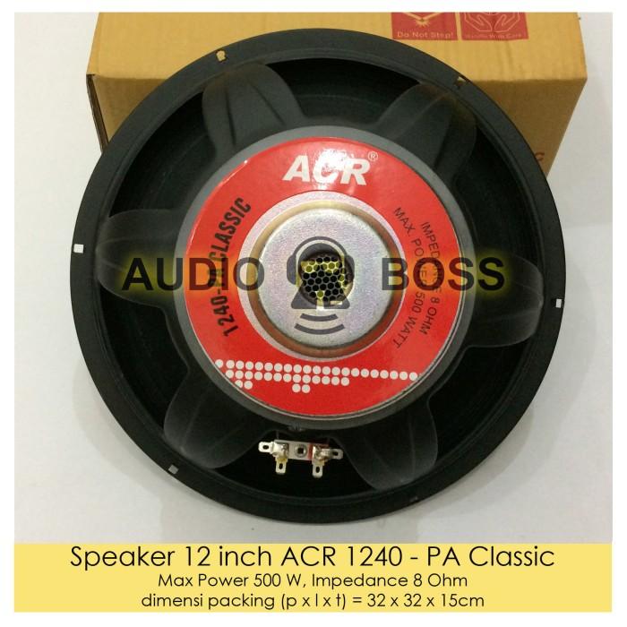 harga Speaker 12 inch acr 1240 pa classic/speaker acr 1240 12  klasik clasic Tokopedia.com