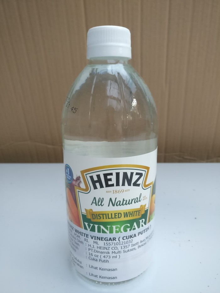 harga Cuka putih / distilled white vinegar heinz 473 ml Tokopedia.com