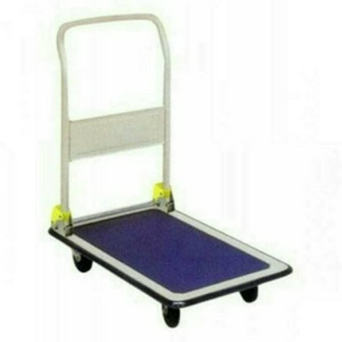 harga 150 kg troli /trolli / trolley / handtruck / dorongan lipat barang Tokopedia.com