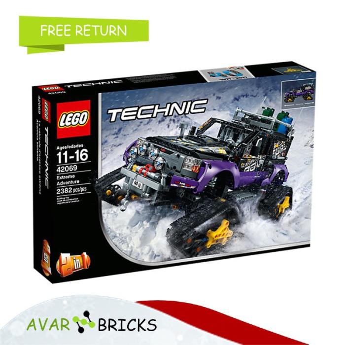 Jual Lego Technic 42069 Extreme Adventure Original Dengan Detail