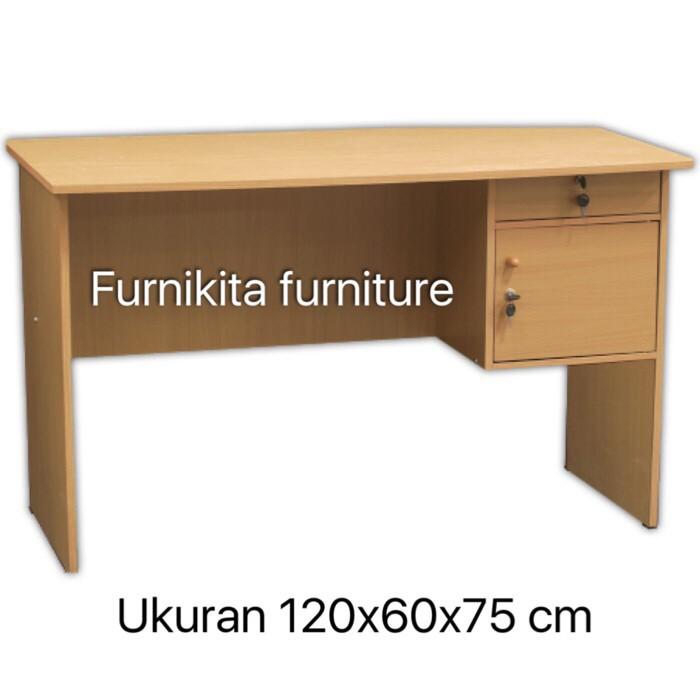 Meja tulis meja kerja meja kantor murah big panel