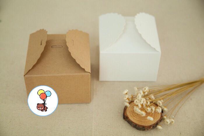 Foto Produk kotak hadiah kotak baju kotak cookies kotak souvenir 12x12 dari Fancy Grosir Online