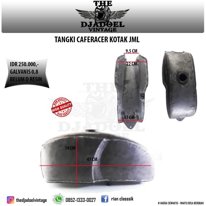 harga Tangki caferacer kotak / tangki custom Tokopedia.com