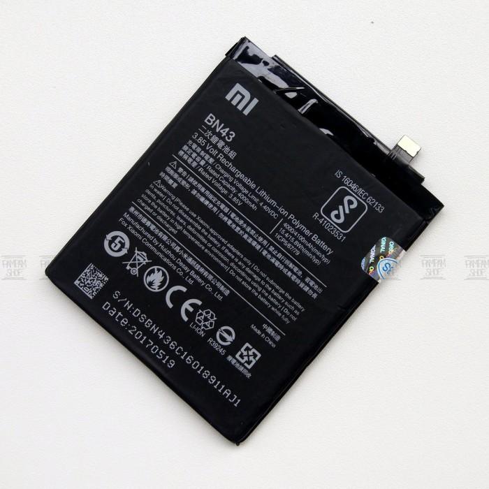 Baterai Handphone XiaoMi Redmi Note 4X BN43 Original OEM BN 43 Xiao Mi