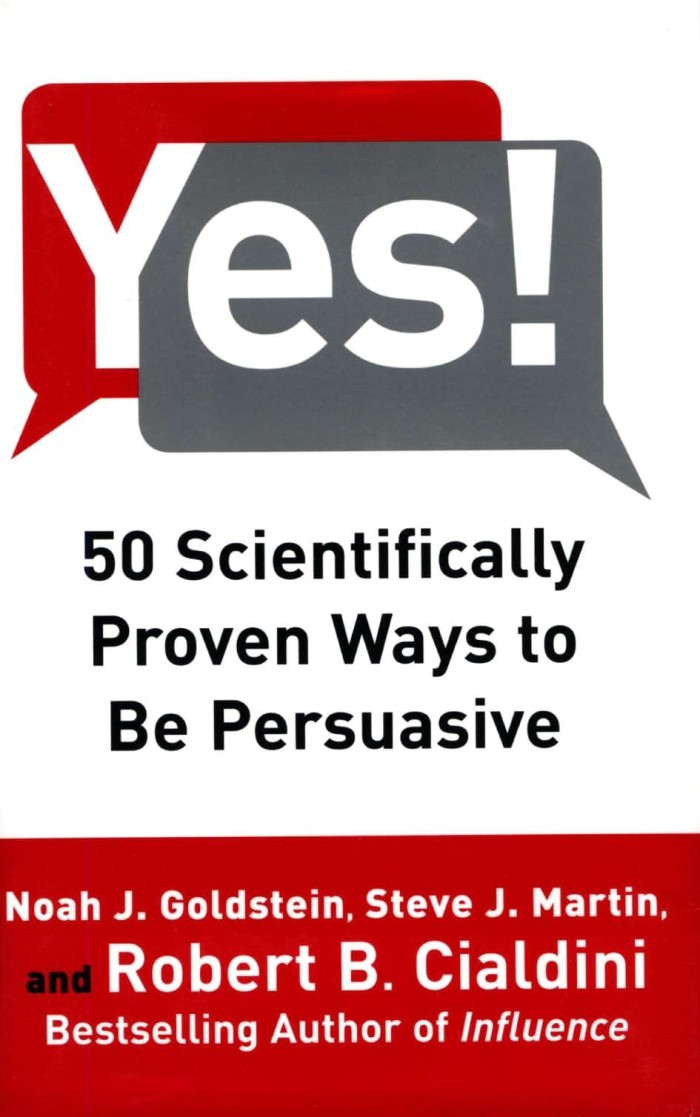harga Yes!: 50 secrets from the science of persuasion [ebook/e-book] Tokopedia.com
