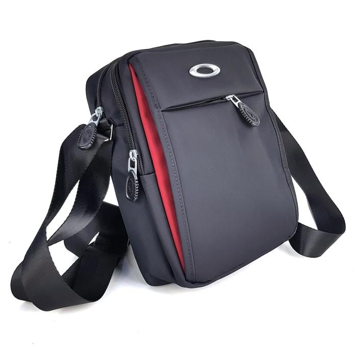 Tas pria slimbag bodybag import branded - oakley ousm black 800c550d74