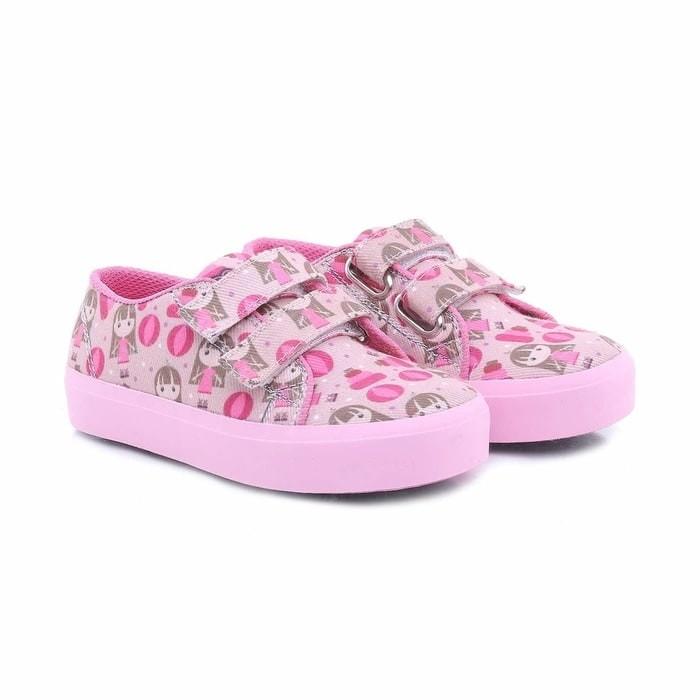 harga Sepatu anak perempuan pink motif cantik - sepatu casuak kets anak th Tokopedia.com