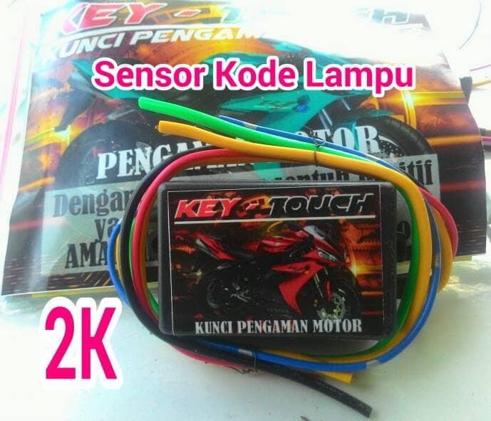 harga Alarn motor kode lampu / alarm motor metik sport injeksi dll k-touch Tokopedia.com