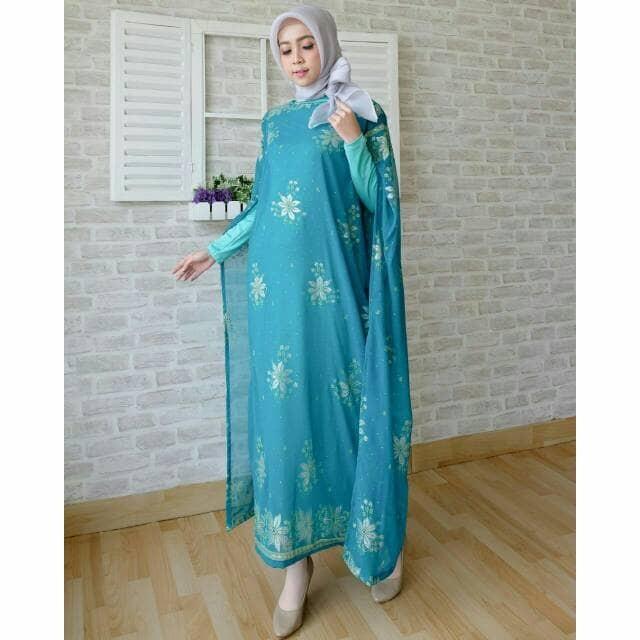 Baju Syari / Pakaian Wanita Muslim Kaftan CKR INDIA Tosca Termurah