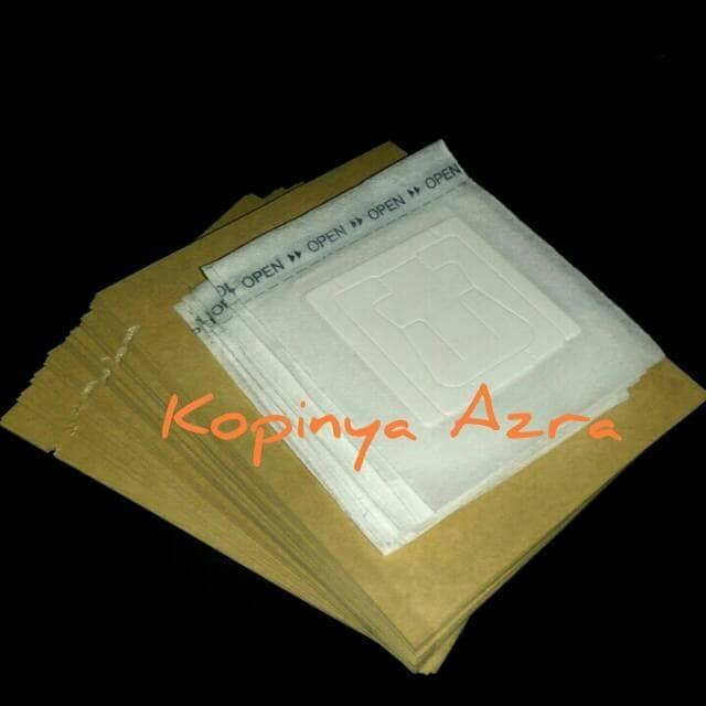 harga Paket drip bag coffee filter + sachet papercraft 50 pcs Tokopedia.com