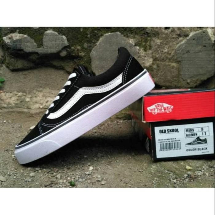 Jual Sepatu Vans Old Skool   Sepatu Sekolah Casual Cewek Cowok ... 5e3454c43b