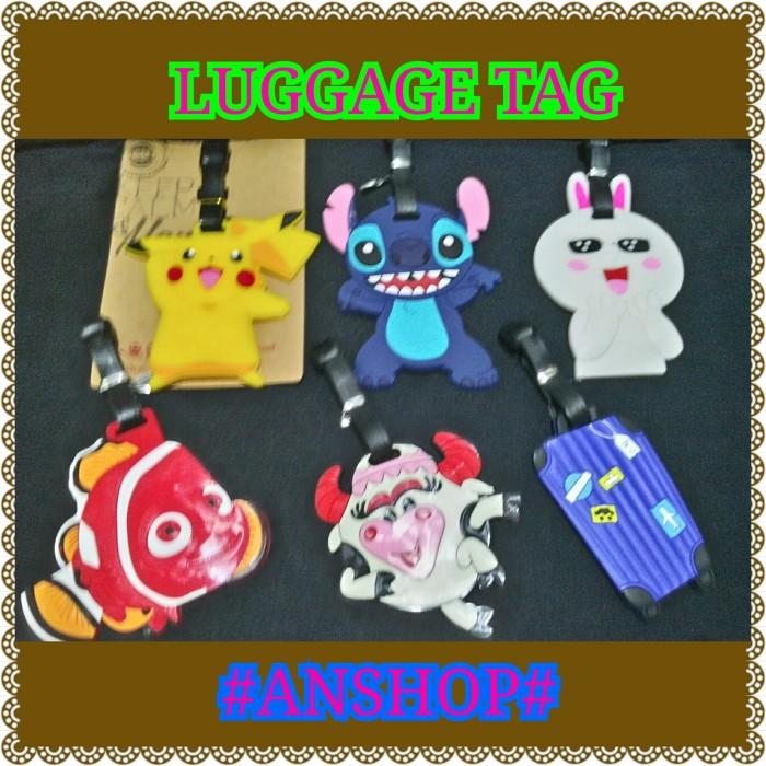 harga Luggage tag / name tag koper karakter Tokopedia.com