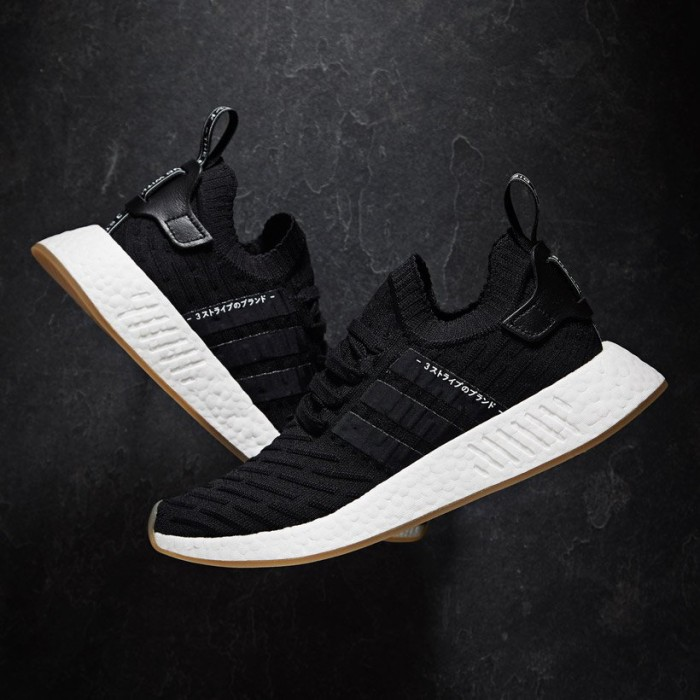 Adidas NMD R2 JAPAN BLACK THE BEST BLACK NMD FOR 2017