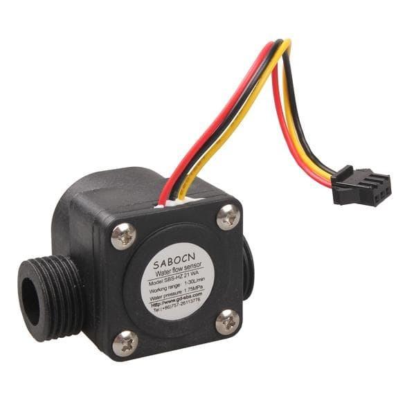 harga Water flow sensor (sensor kecepatan arus air) Tokopedia.com