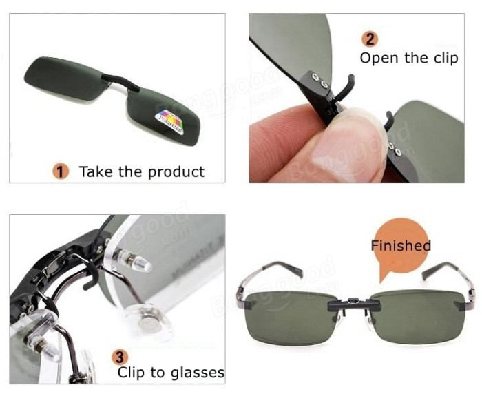 harga Kacamata Clip Ons Night N Day Polarized Anti Uv /new Clip Innovation Tokopedia.com