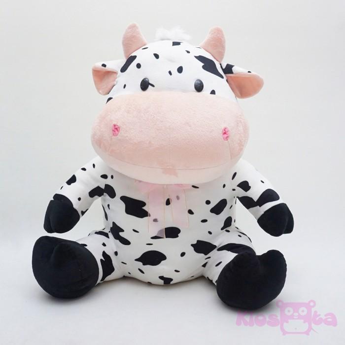 ... harga Boneka sapi sitting cow lucu pita pink jumbo Tokopedia.com feeb4d51a5