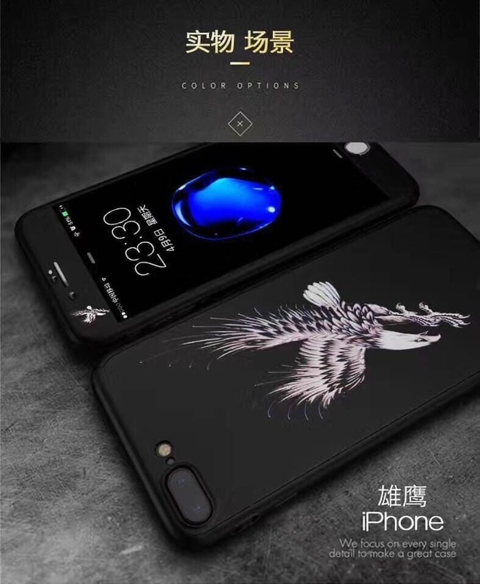 Oppo A37 Neo 9 iPaky 360 tatto Tempered glass cover case casing armor