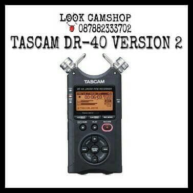 harga Tascam dr-40 dr40 linear pcm recorder 4-track handheld digital audio Tokopedia.com