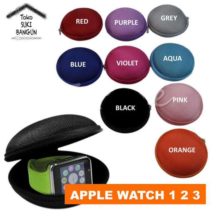harga Soft case box pocket pouch zipper for apple watch 38mm 42mm series 1 2 Tokopedia.com