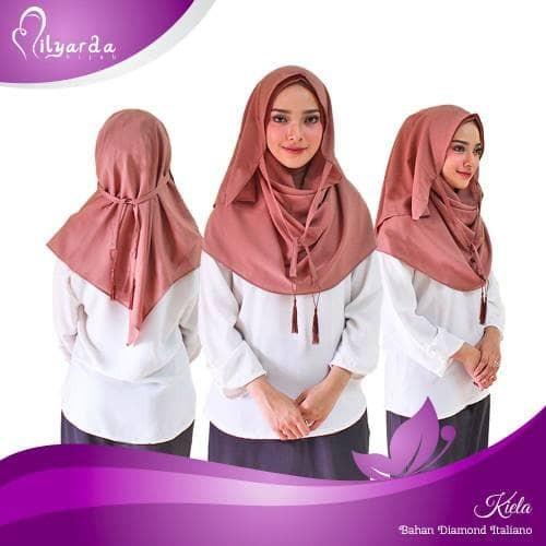 Hijab instan kiela/ kerudung syari/ jilbab fashion muslim