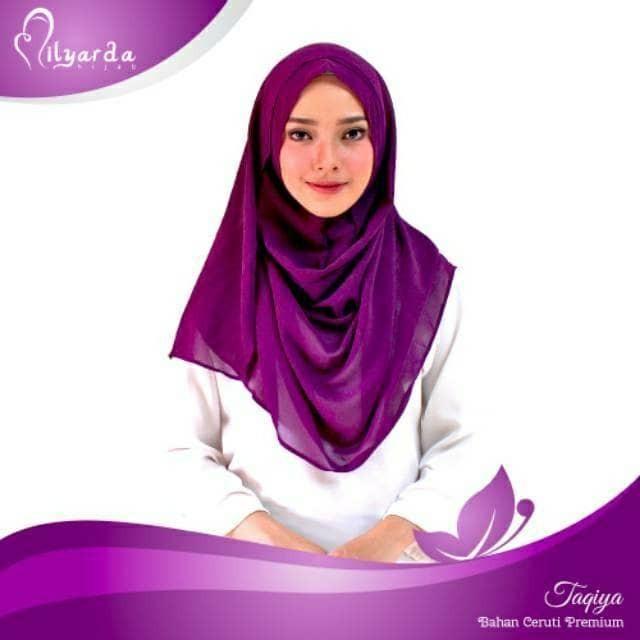 Jilbab Instan Khimar Syari Sabrina 3 Layer Hijab Daftar Harga Source · hijab instan taqia kerudung