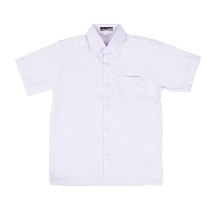 harga Size 2 3 4 baju seragam sd polos woffi putih Tokopedia.com