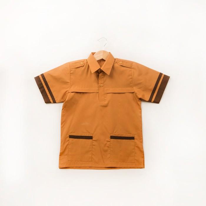 harga Size 6 baju seragam pramuka siaga special edition woffi coklat Tokopedia.com