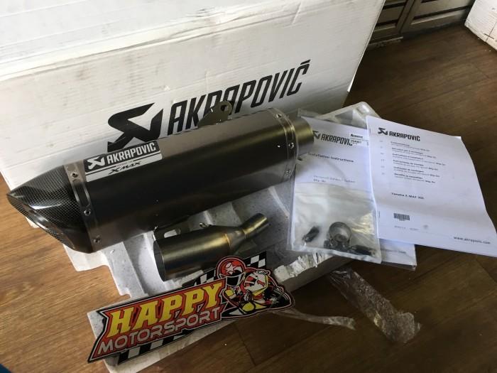 harga Knalpot akrapovic yamaha xmax300 original slovenia titanium carbon ori Tokopedia.com