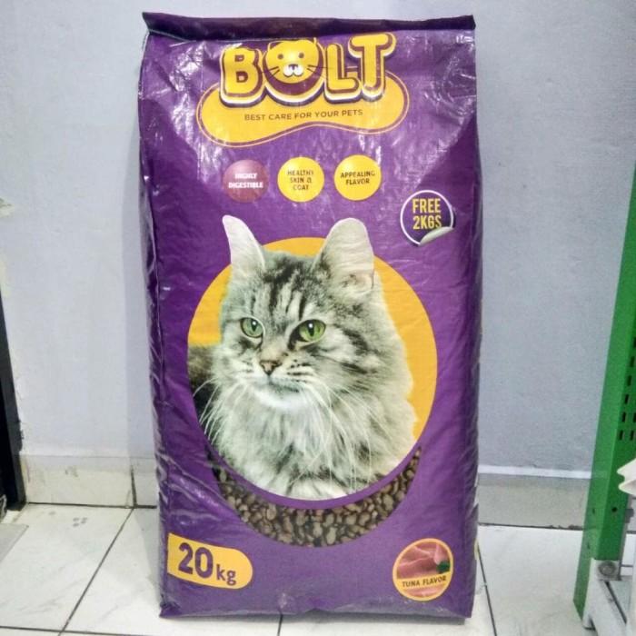 Jual Makanan Kucing Karung Bolt Tuna 20kg Kota Depok Bimbi
