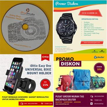 Jual Template Iklan Desain Promosi Online Shop Social Media Promotion Ads Jakarta Timur Pro Studio Tokopedia