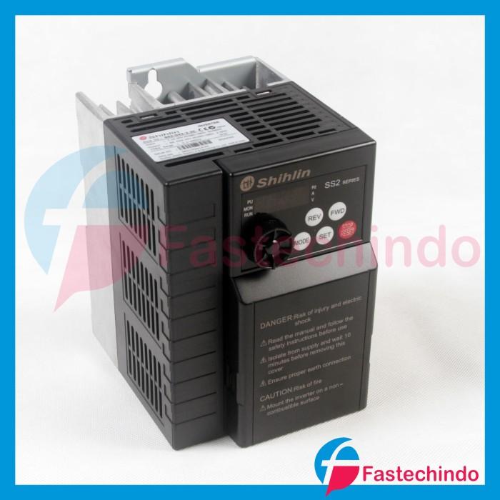 Foto Produk Shihlin Inverter SS2-043-2,2K (2.2KW/ 380VAC 3Phase) dari fastech-indo