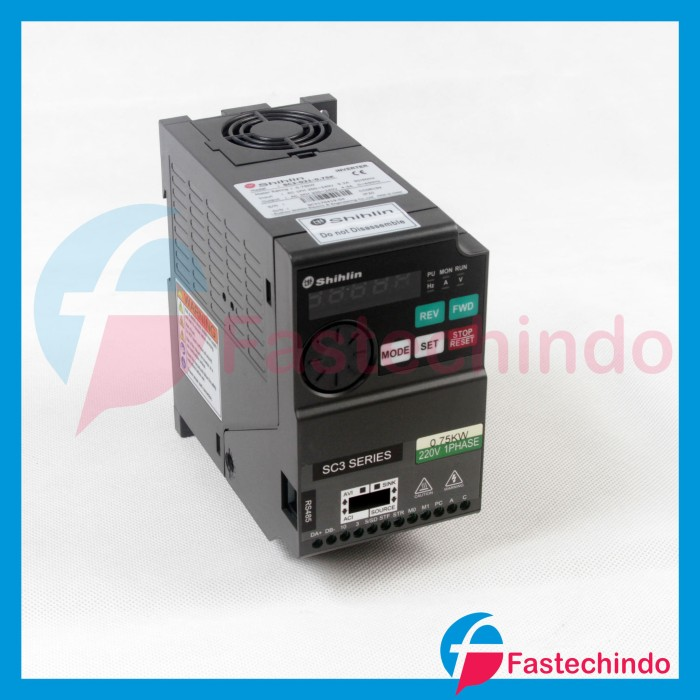 Foto Produk Shihlin Inverter SC3-021-0.75K (0.75KW/ 220VAC 1Phase) dari fastech-indo