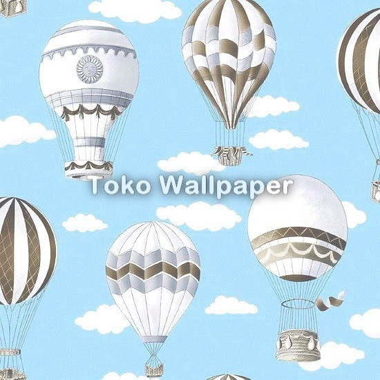 Jual Wallpaper Kamar Anak Lollipop Ll5991 Motif Balon Udara Dki Jakarta Maju Interior Tokopedia