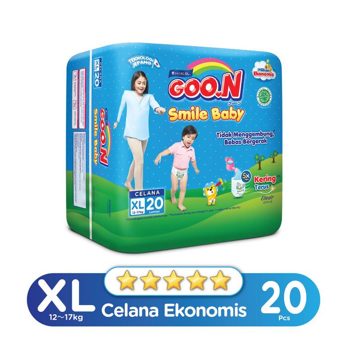Jual Smile Baby Pants Jumbo Xl Isi 20 Harga Promo Terbaru