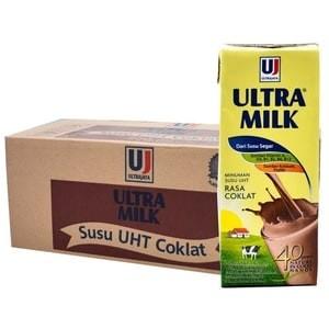 harga Susu ultra milk coklat 200ml Tokopedia.com