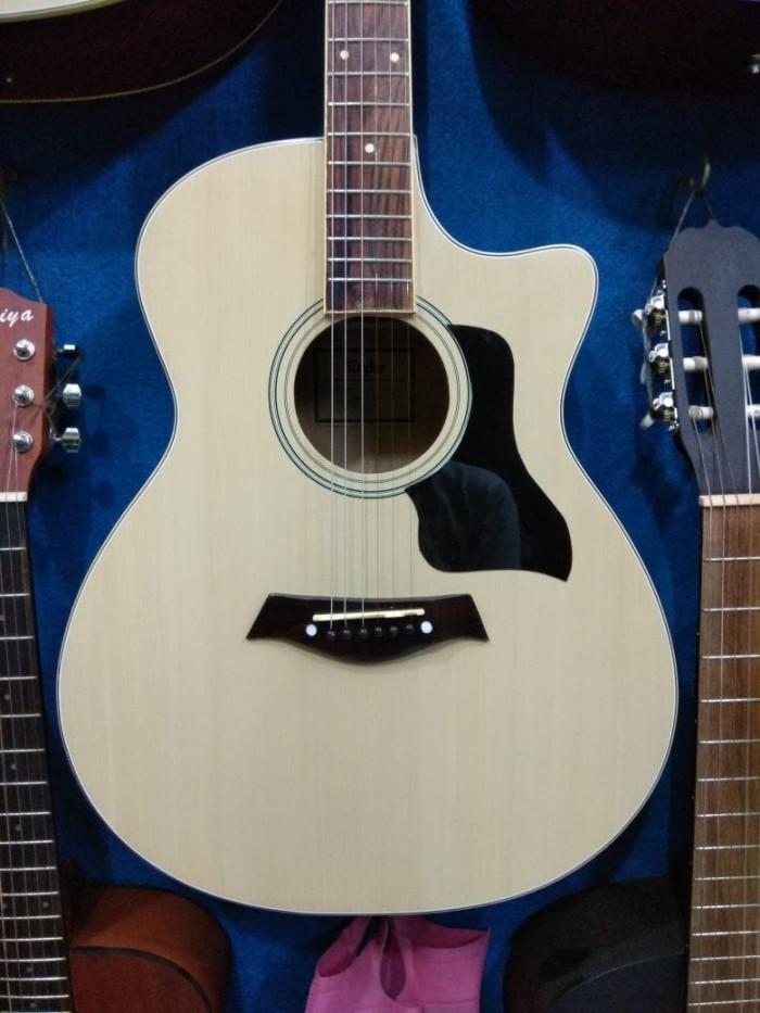 Gitar Akustik Merk Taylor Double Round Murah Jakarta