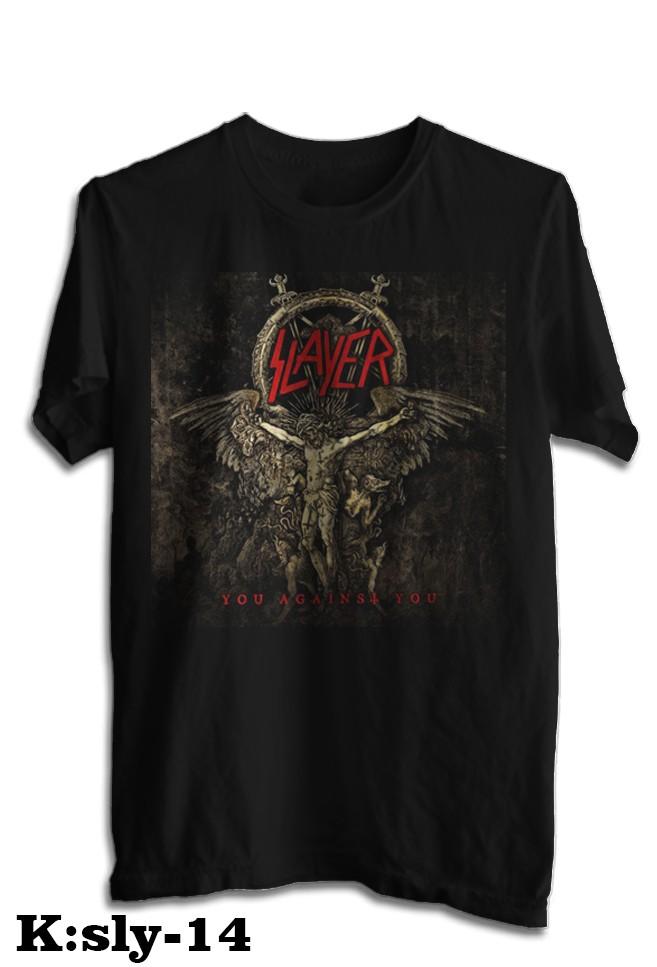 harga Kaos band slayer tshirt musik rock sly 14 Tokopedia.com