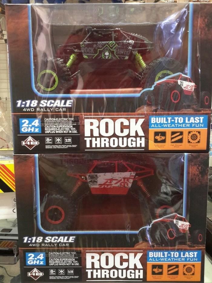 harga Rc rally car rock through 4wd 1:18 scale pure 2.4ghz original version Tokopedia.com