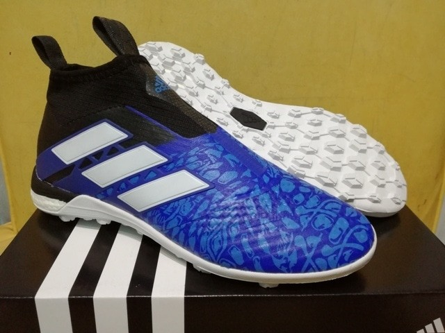 huge selection of 53455 28245 Jual Sepatu Futsal Adidas ACE Tango 17+ PURECONTROL Paul Pogba - Biru, 40 -  Kota Yogyakarta - Gustara Sport | Tokopedia
