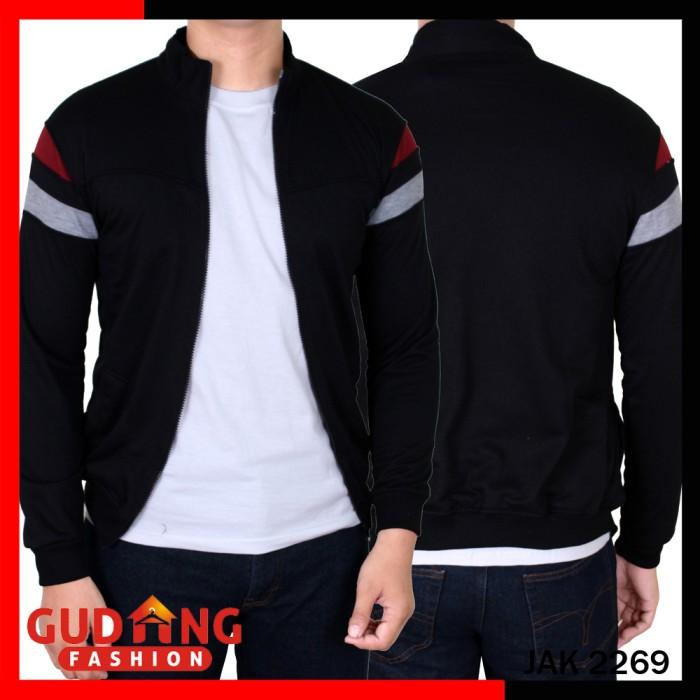 Jual Jaket Training Sporty Pria JAK 2269 - Gudang Fashion - OS ... a1e2203b4f